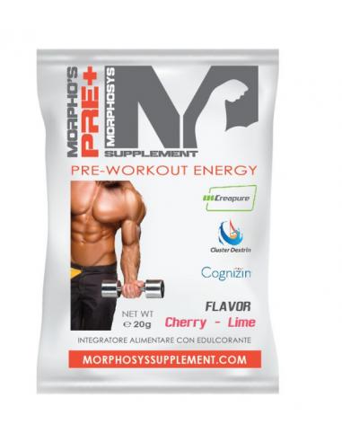 MORPHO'S PRE+ SHOT pre-workout formula